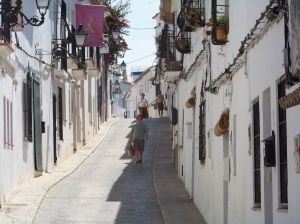 Spansk gata1 Spanien